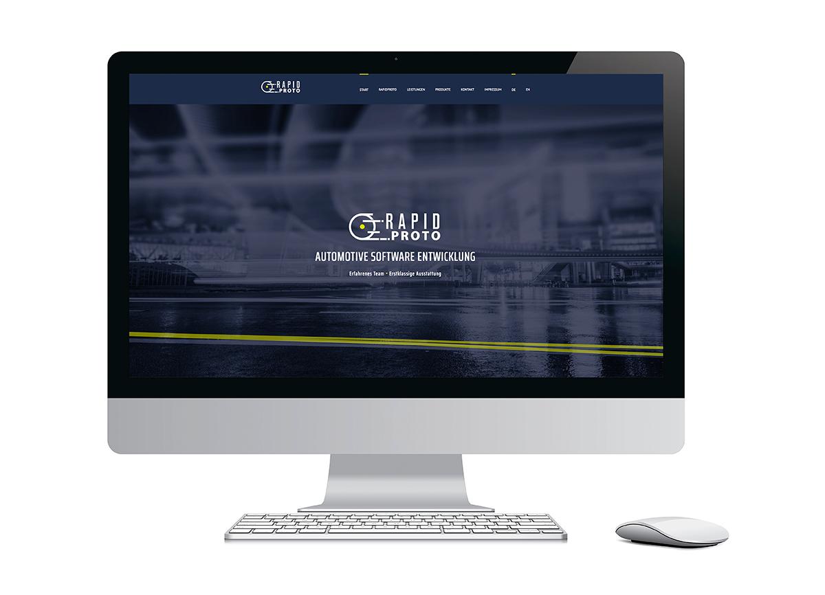 dynamisches Webdesign mit Webentwicklung